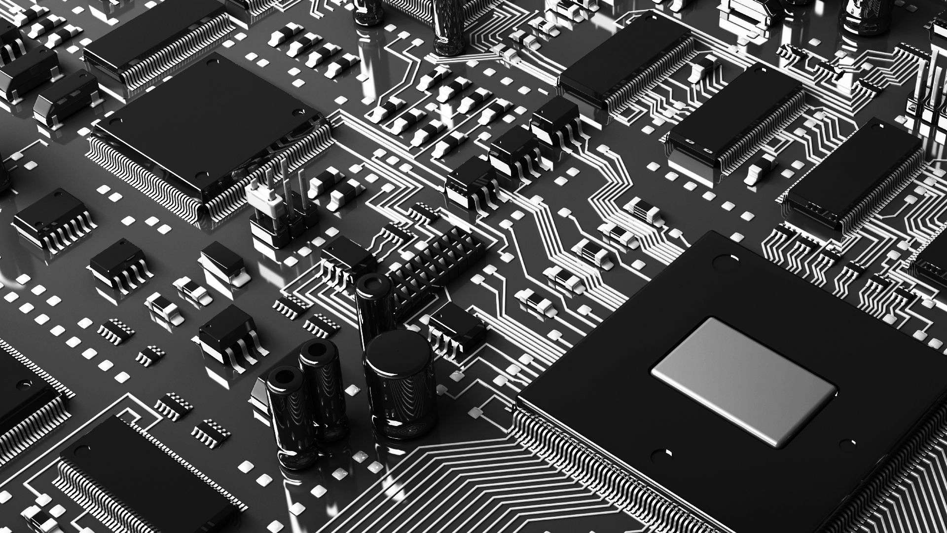 Free Download Circuit Board Wallpapers 1920x1080 For Your