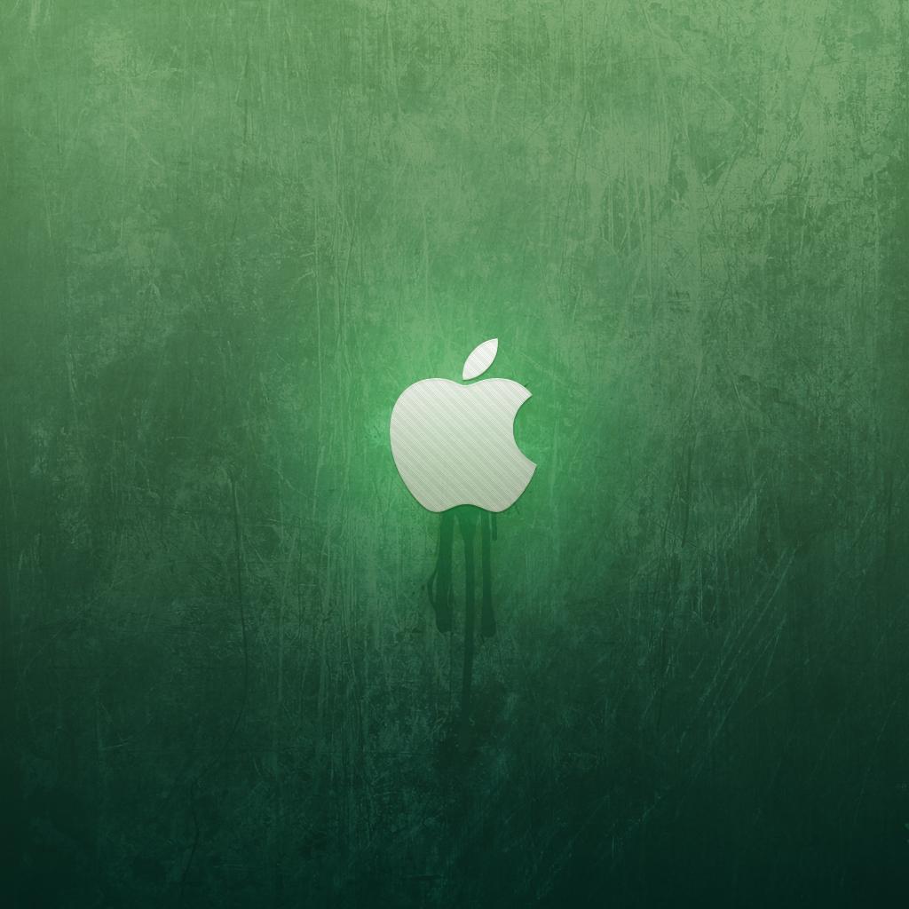 ipad wallpaper green apple by martz90 customization wallpaper mac pc 1024x1024