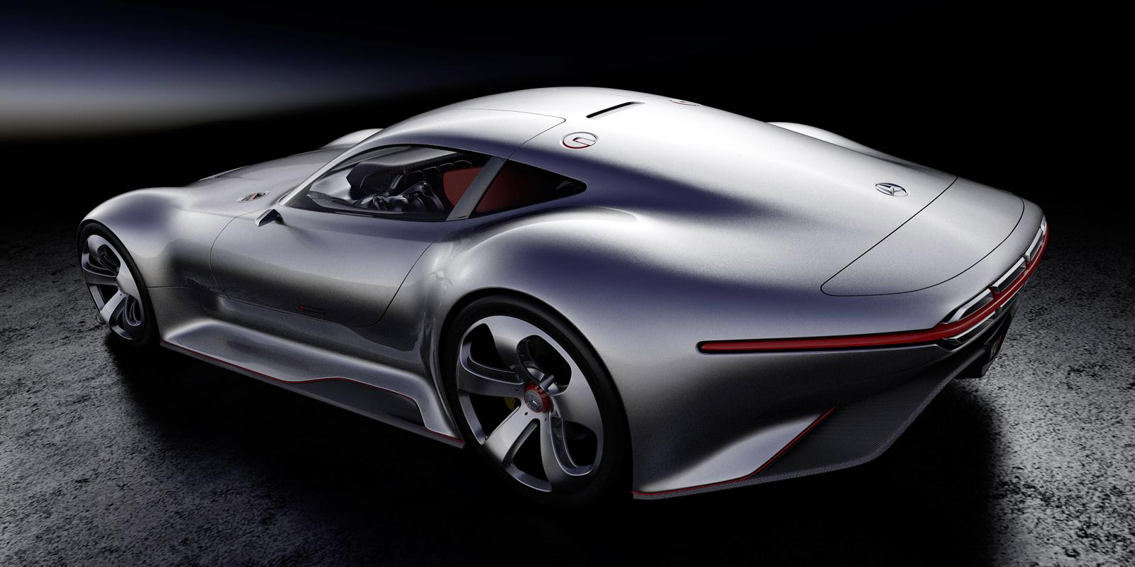 Video Making of Mercedes Benz AMG Vision GT 1600x800