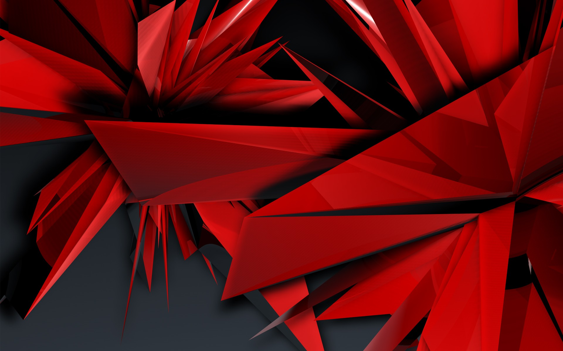 Red Abstrack Wallpapers - The Beggo