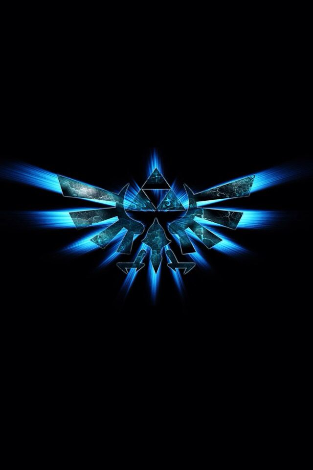 The Legend of Zelda   Blue Triforce hybrid bird AWESOME The 640x960
