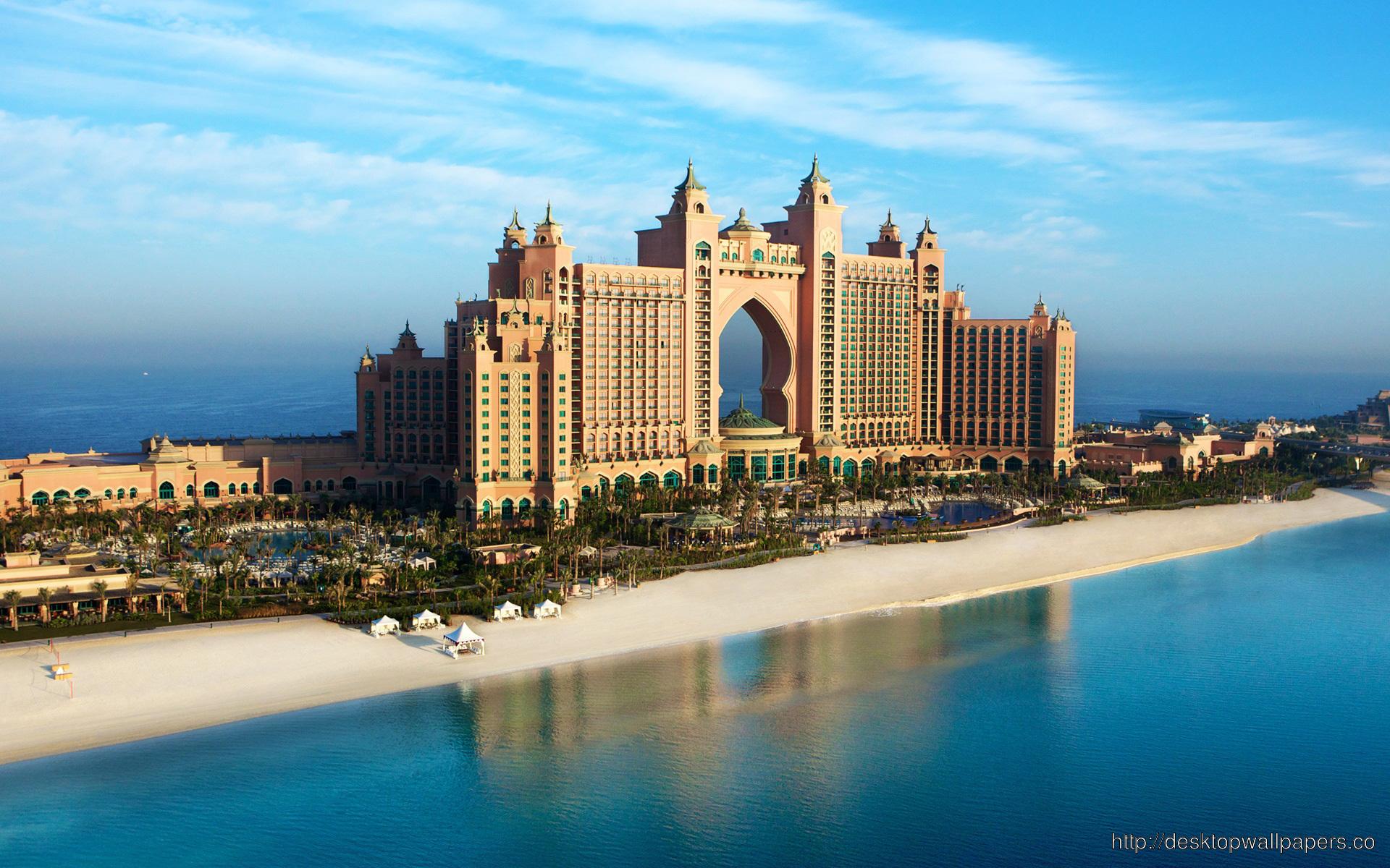 Dubai Atlantis WallpaperDesktop Wallpapers Download 1920x1200