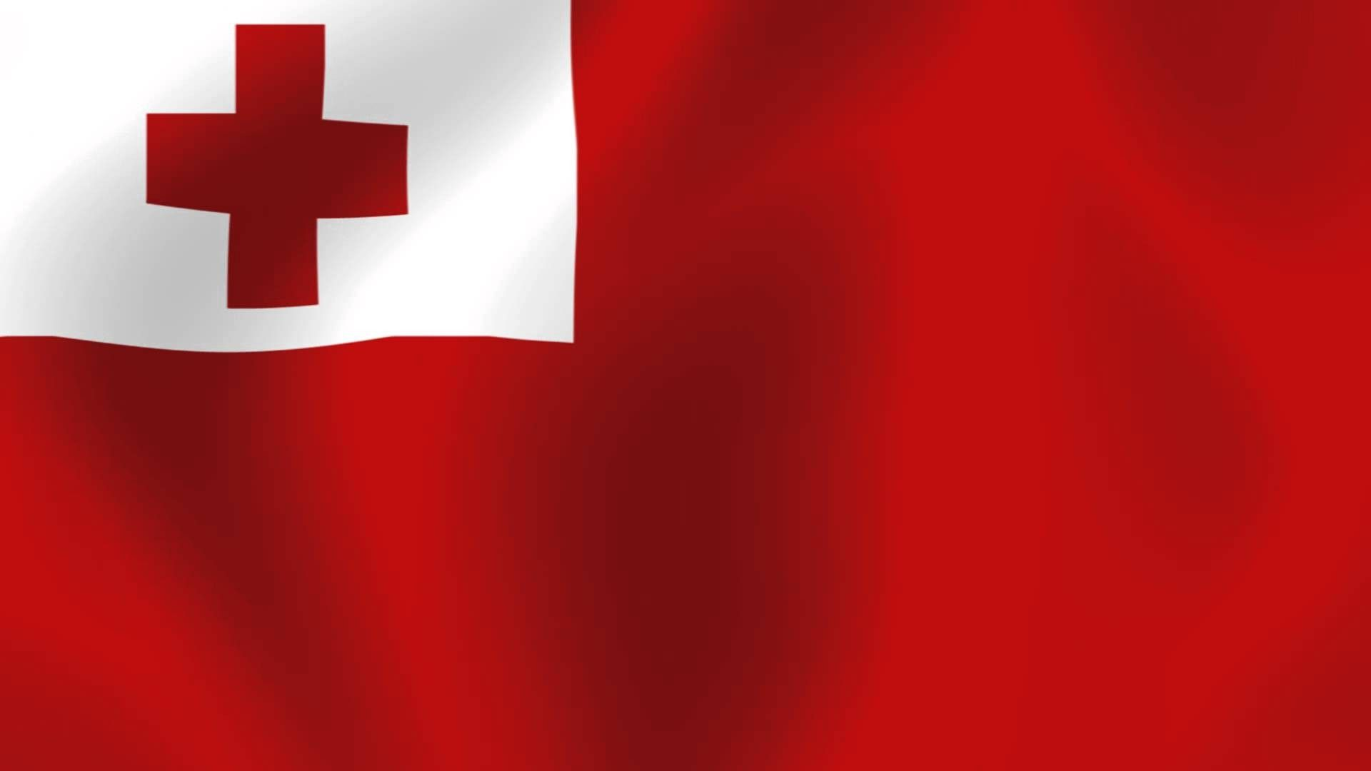 Flag of Tonga wallpaper Flags wallpaper Flag Wallpaper Tonga 1920x1080