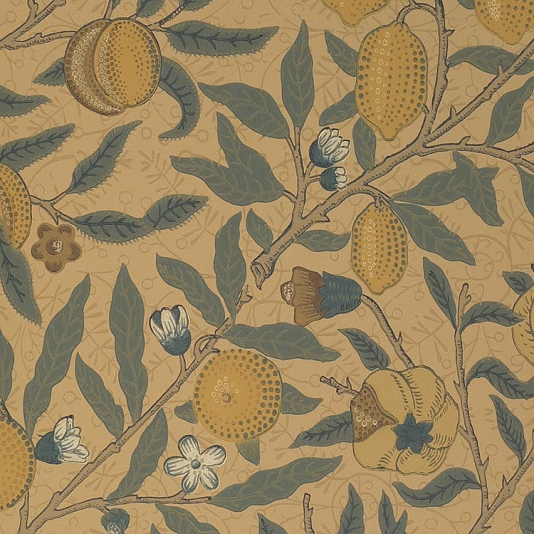 Fruit Wallpaper Classic William Morris Fruit wallpaper 534x534