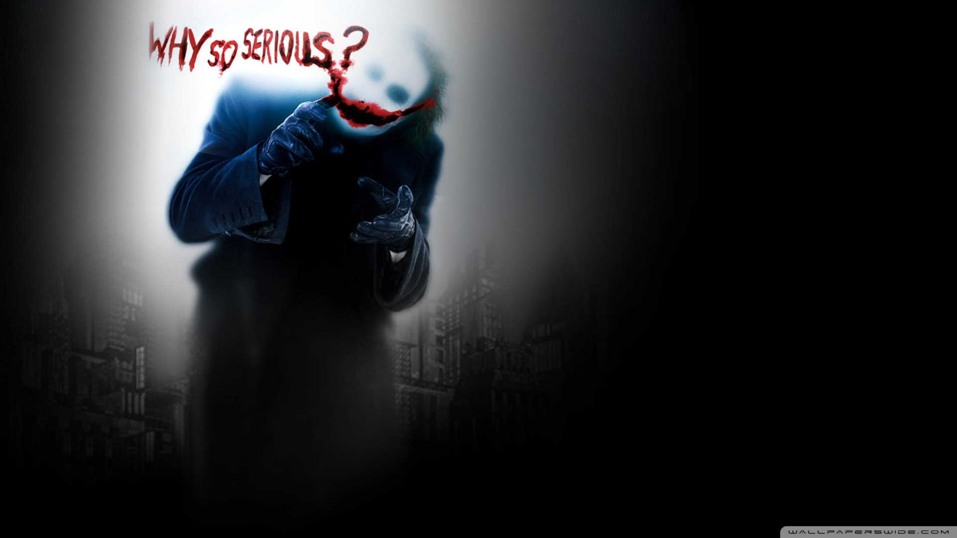 Joker Dark Knight Wallpaper 1920x1080 Joker Dark Knight 1920x1080
