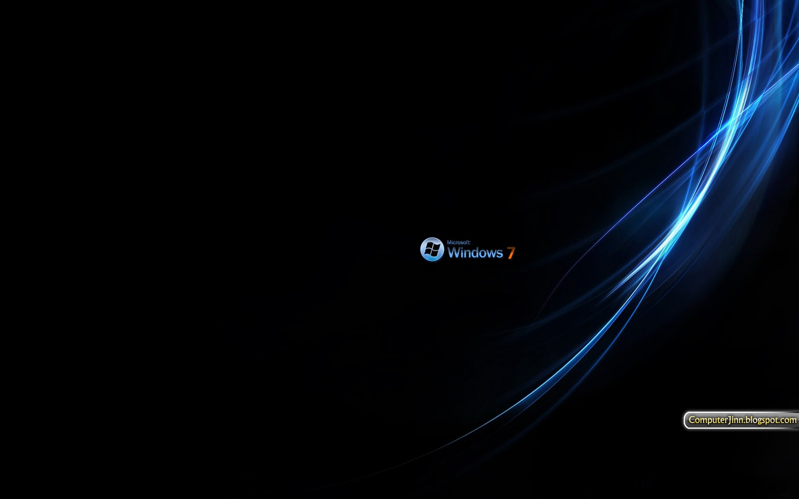 Windows 7 Black and Dark HD Wallpapers Click any image to enlarge it 1600x1000