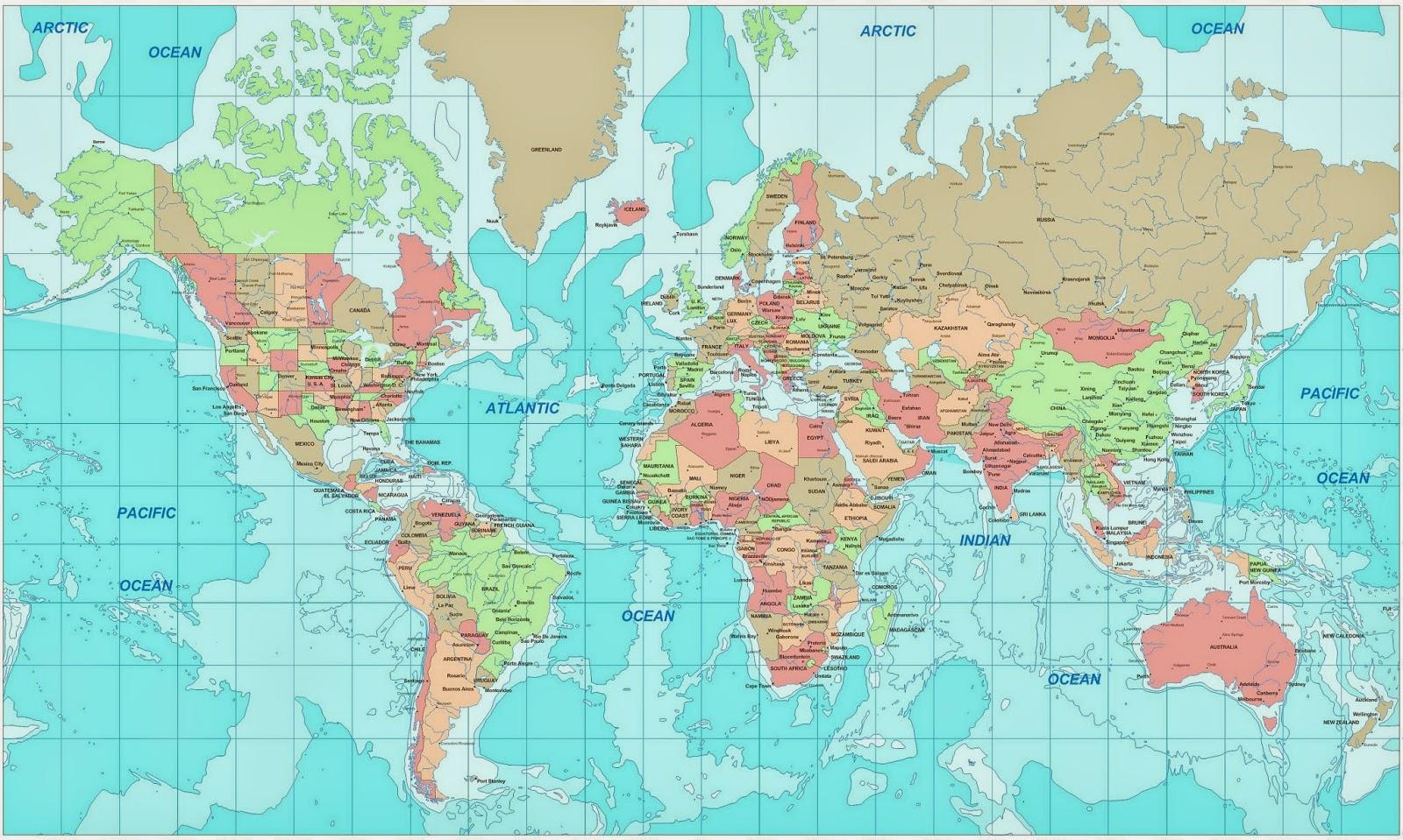 free printable world atlas map free printable world atlas map