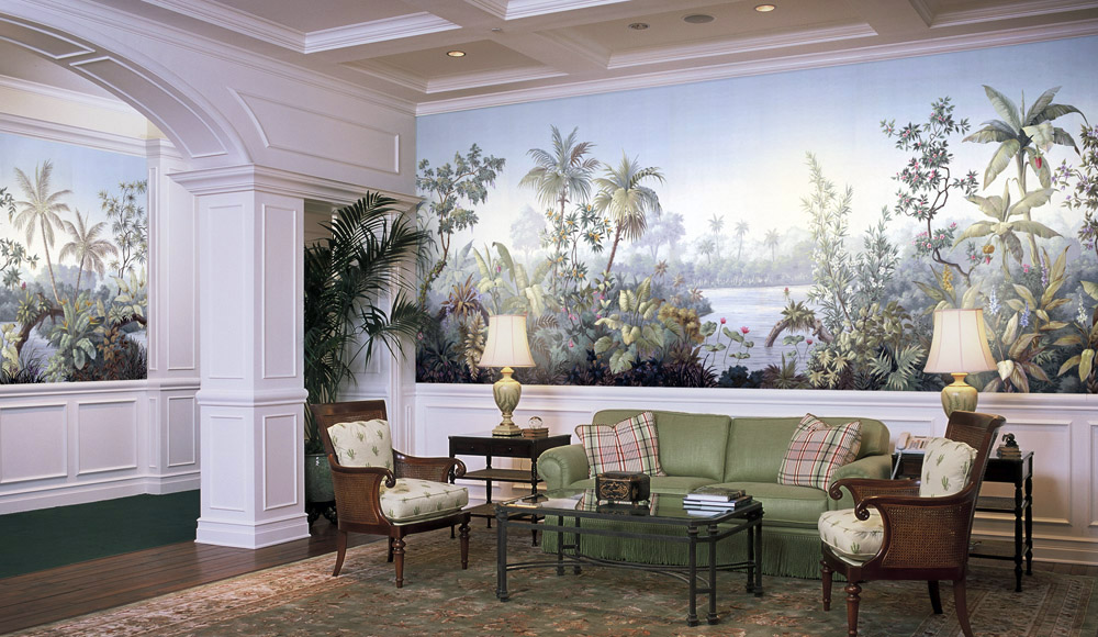 Design Shown Palmera from our Americana Panoramic Collection 1000x580