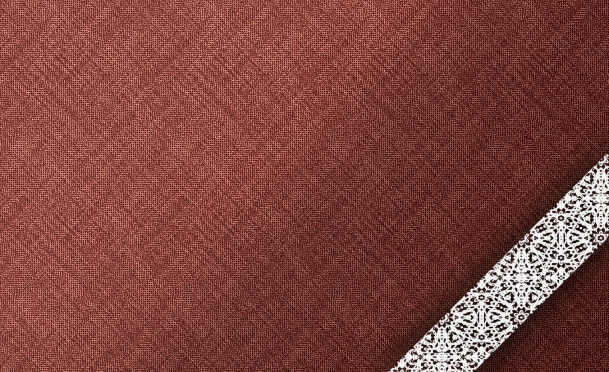 Texture background cloth burgundy brown white lace wallpaper 1960x1200