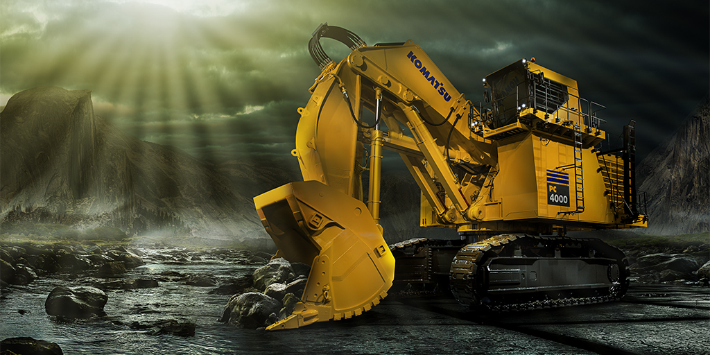 Excavator Wallpaper Wallpapersafari