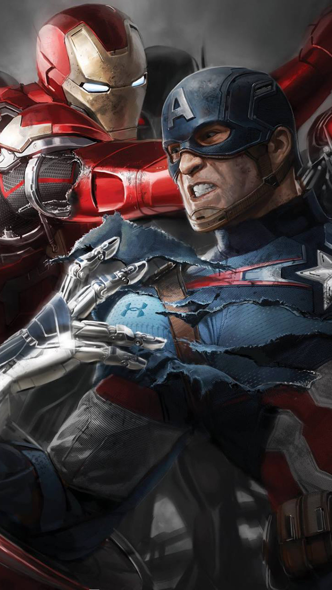Captain America Civil War HD Wallpapers for iPhone   Apple Lives 1080x1920