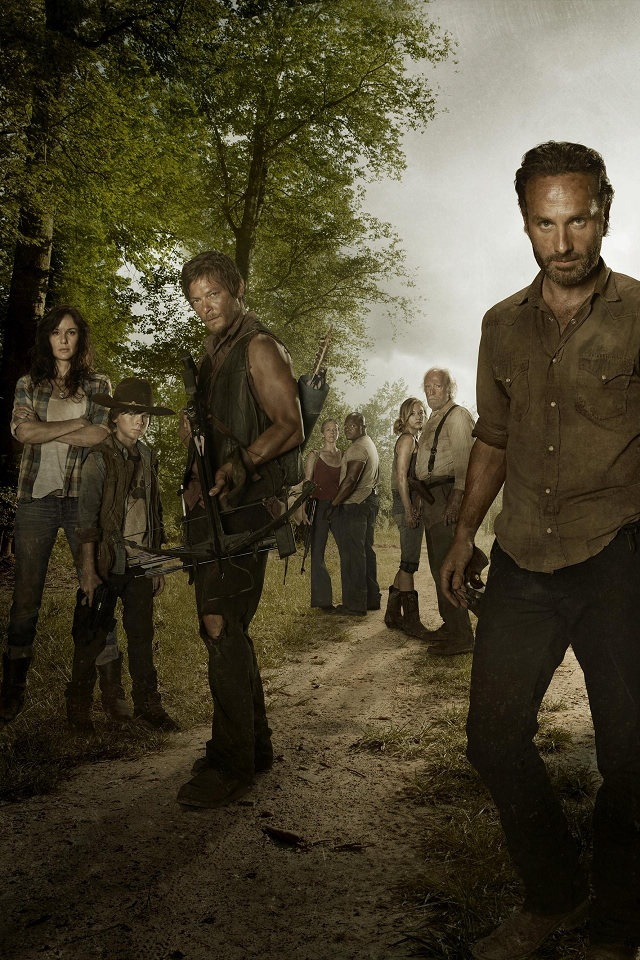 The Walking Dead iPhone Wallpapers 640x960
