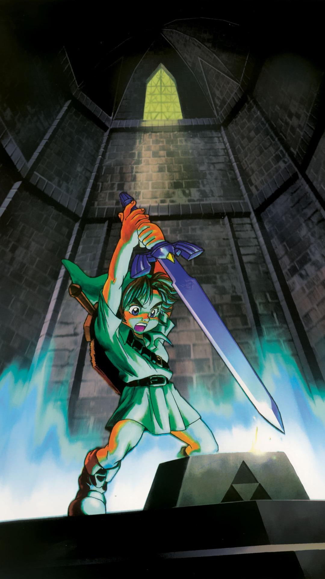 Wallpaper iphone zelda - Legend Of Zelda Ocarina Of Time Mobile Phone Wallpapers