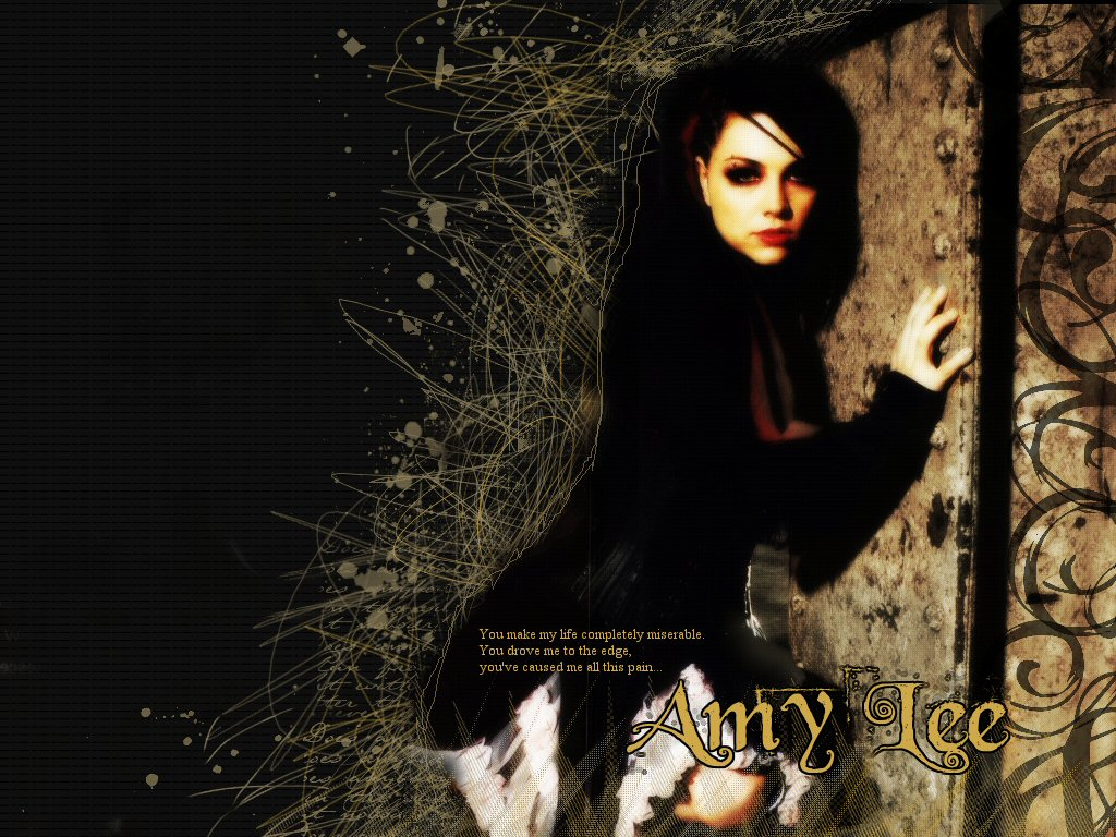Amy Lee Wallpaper by ConnieChan 1024x768