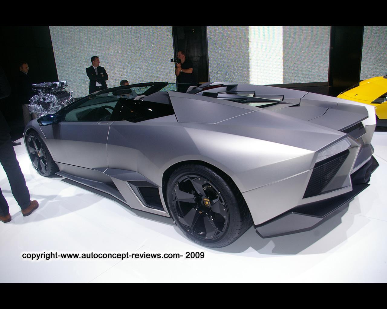 Lamborghini Reventon Wallpaper 2009