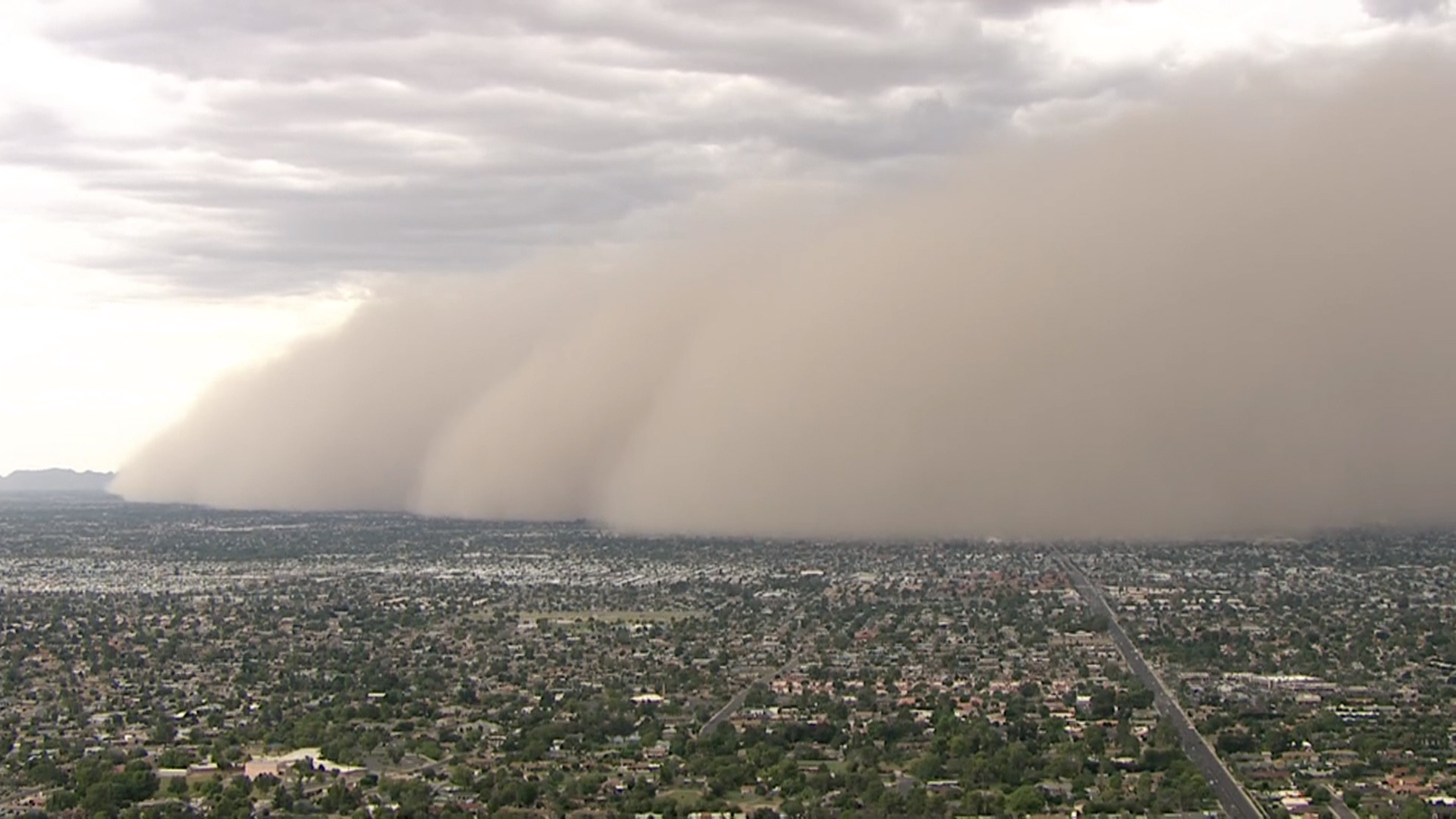 Dust Storm Blows Through Phoenix   NBC News 1920x1080