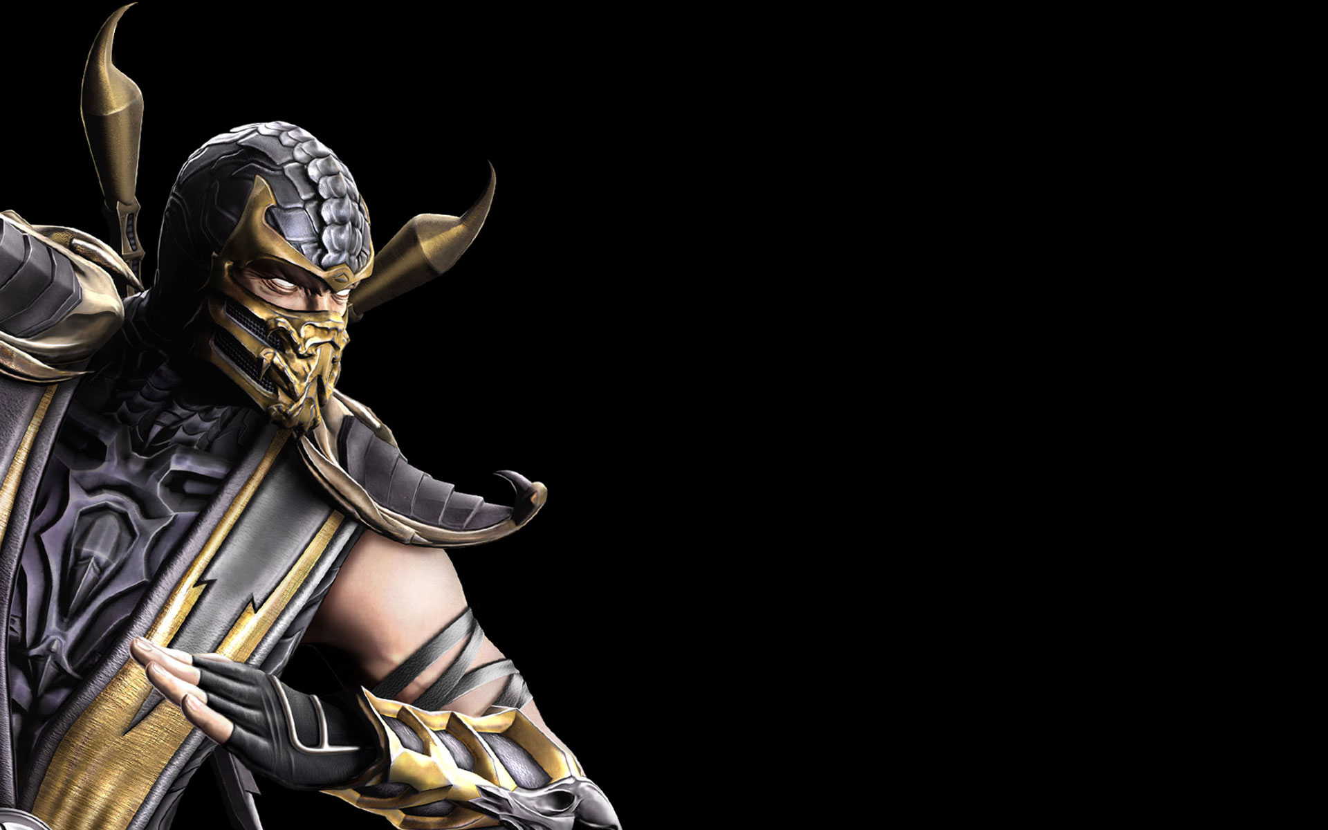Mortal Kombat 9 wallpaper Scorpion Wallpaper Mortal Kombat 9 hd 1920x1200