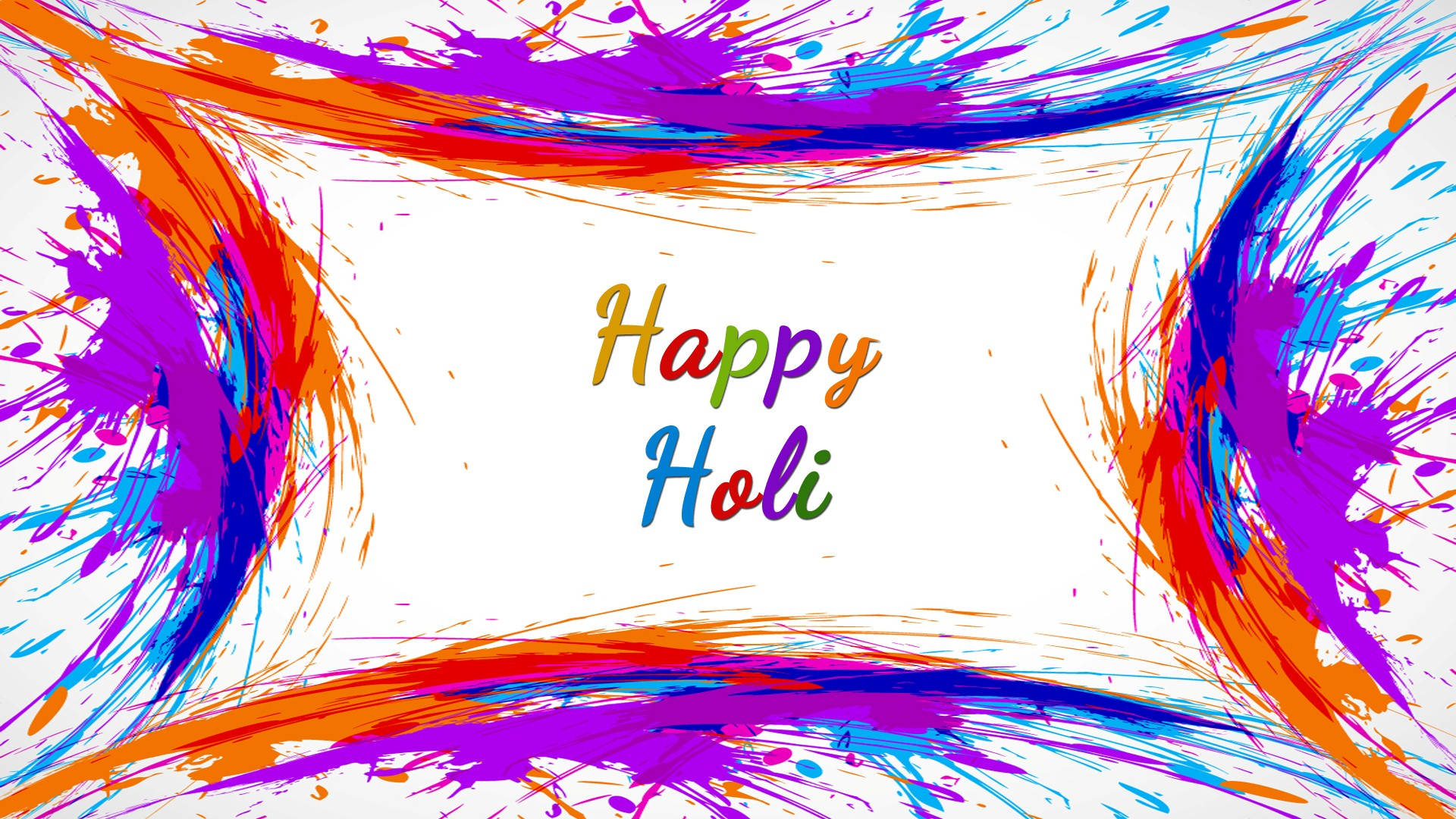 Happy Holi Colorful HD Image HD Wallpapers 1920x1080