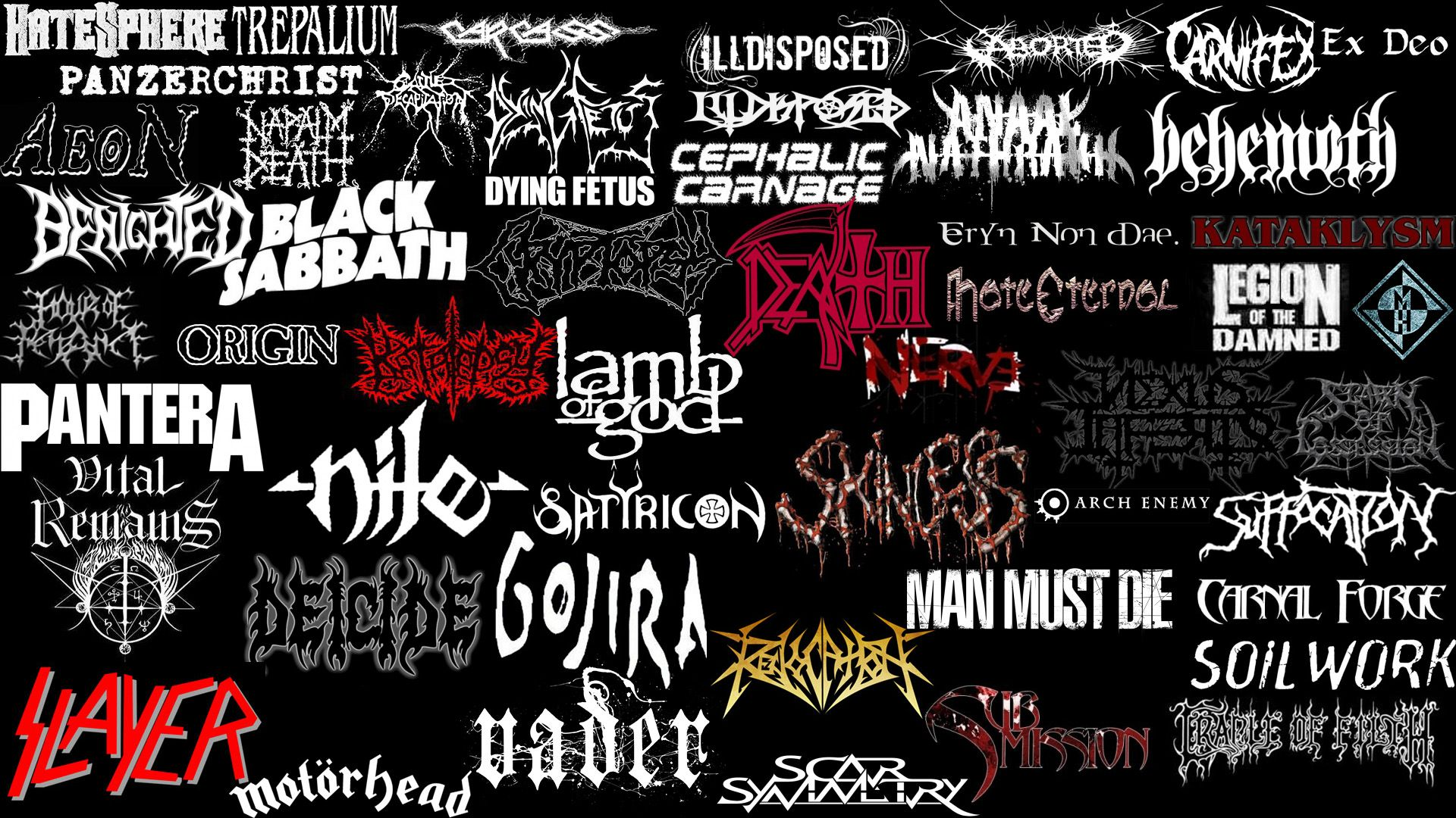 63 Heavy Metal Bands Wallpapers On Wallpapersafari