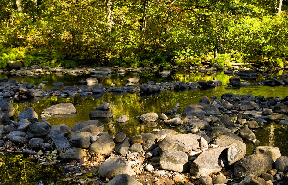 River rocks wallpaper 943x606