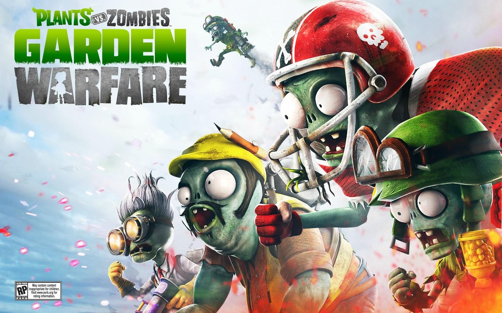 Free Download Wallpapers In Het Weekend Plants Vs Zombies Garden