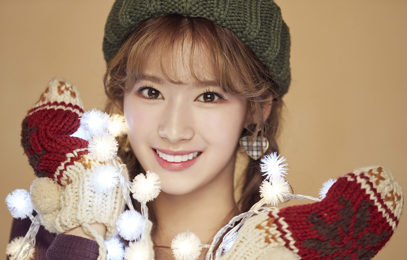 Wallpaper Girl Music Kpop Twice You Merry and Happy images 1332x850