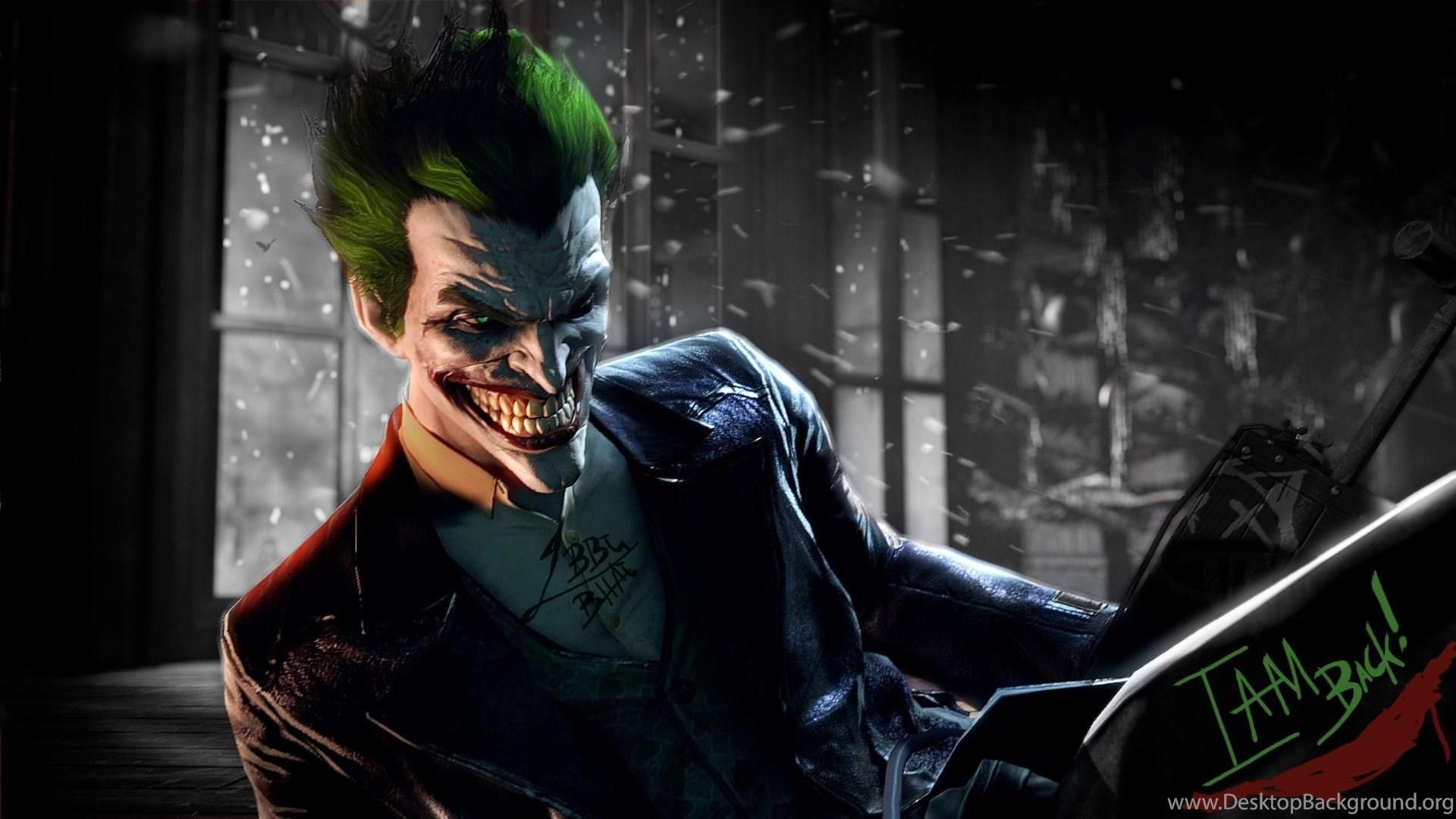 JokerI Am Back By Captthelegend On Desktop Background 1920x1080