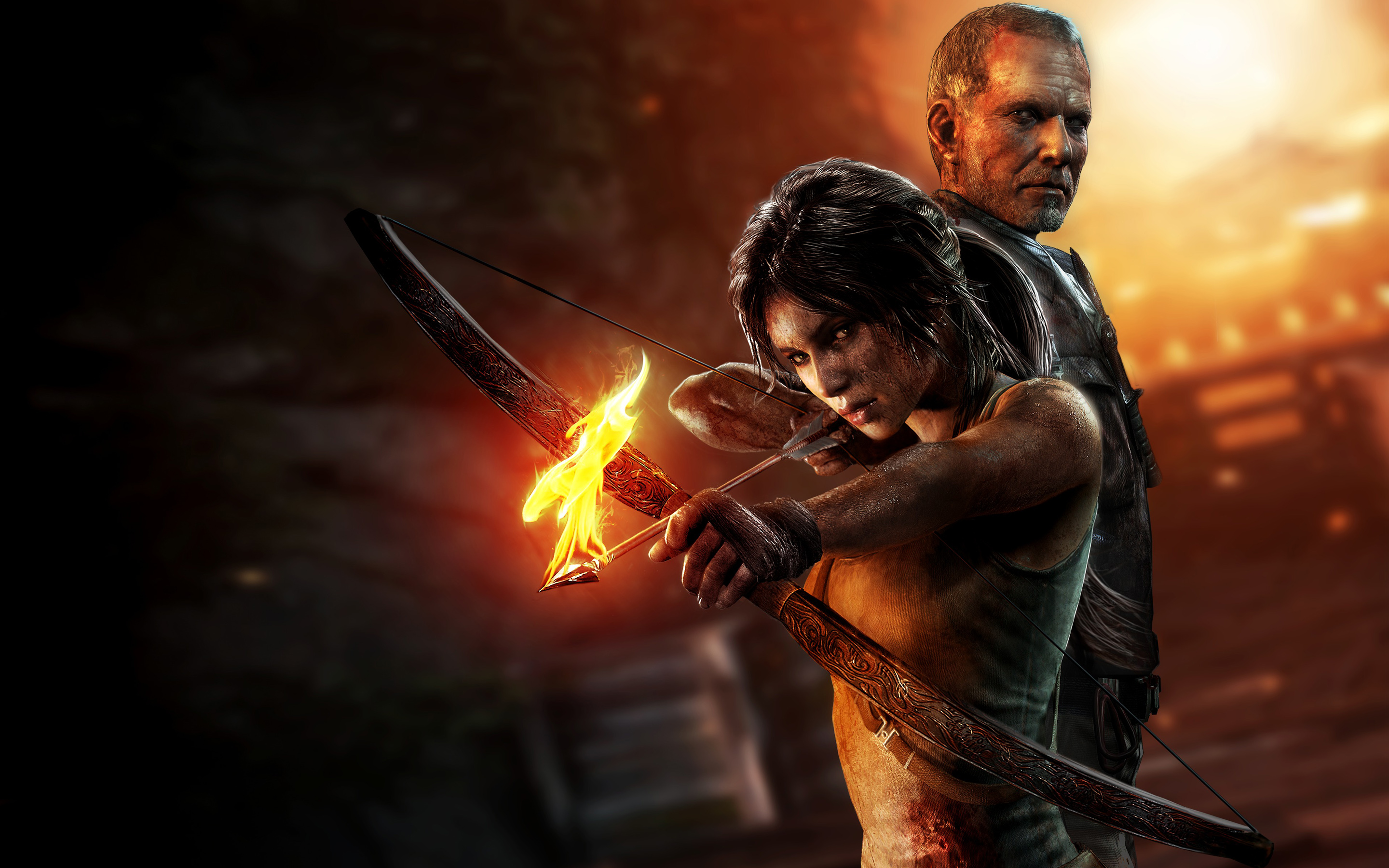 2013 Tomb Raider Game Wallpapers HD Wallpapers 2880x1800