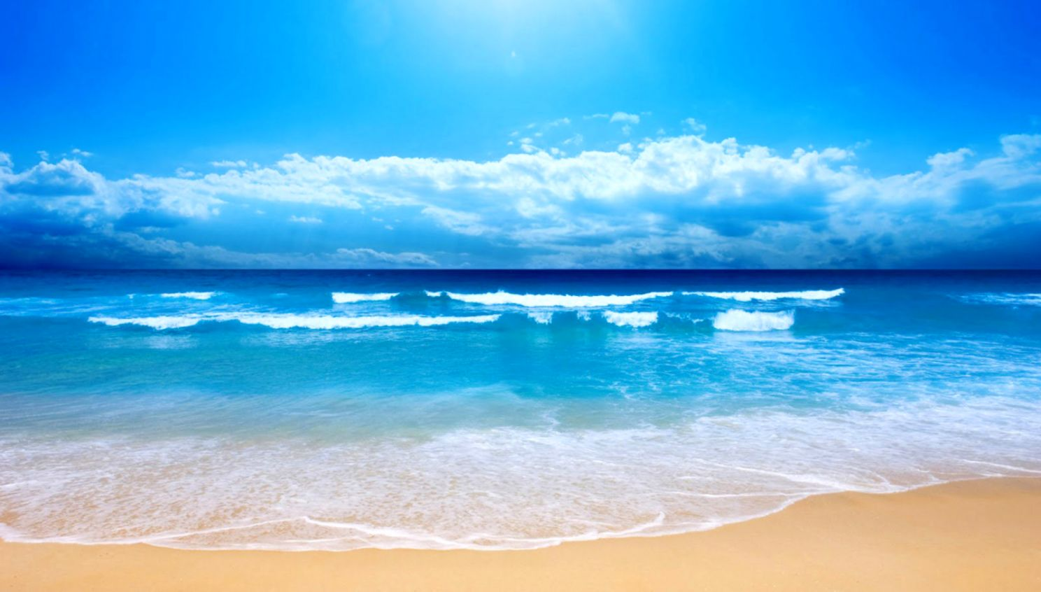 Desktop Background Beach Decor di Design 1488x846