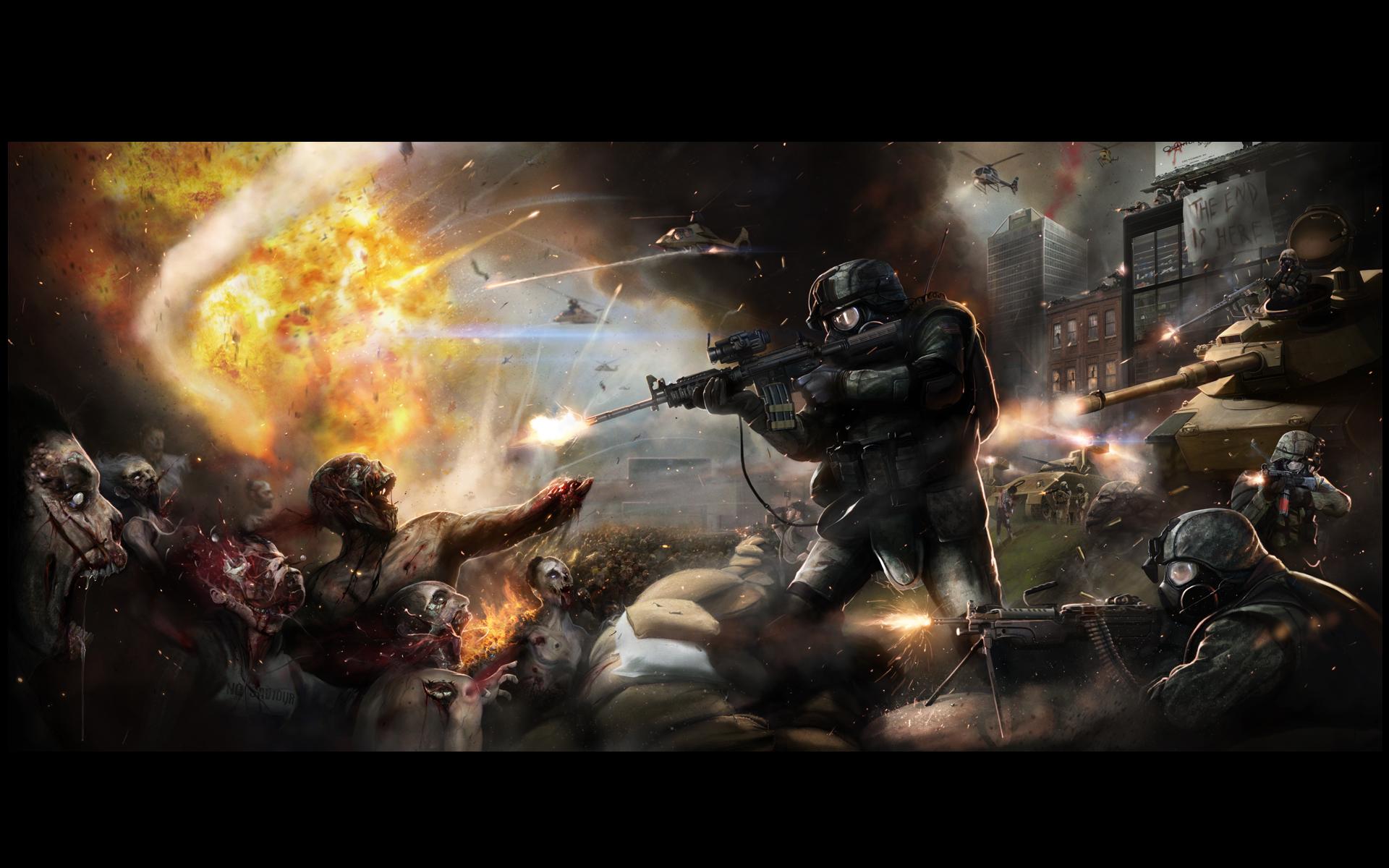 world war z zombie battle of yonkers wallpaper zombie background 1920x1200