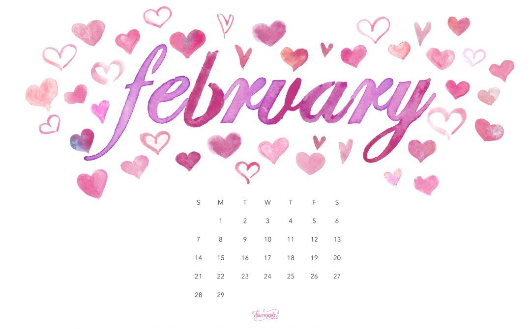 February 2016 Calendar Tech Pretties Dawn Nicole Designs 1080x670