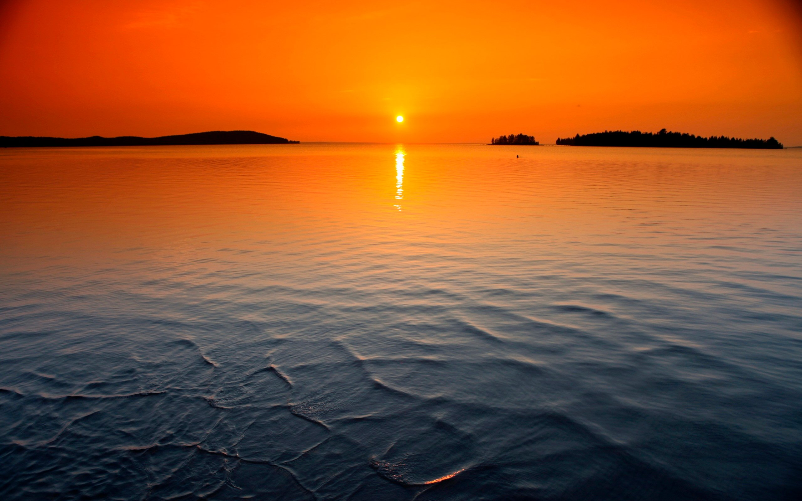 download sunset ocean wallpaper which is under the ocean wallpapers 2560x1600