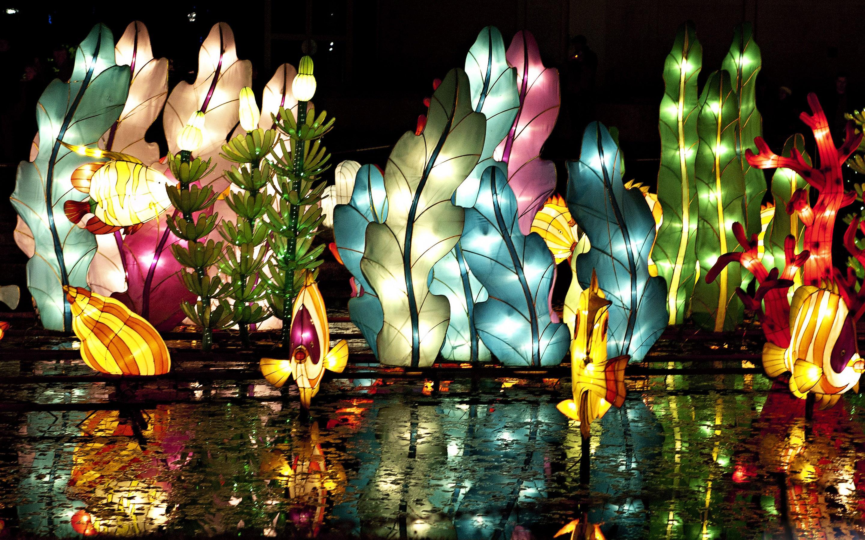Chinese Lantern Festival Wallpaper 2880x1800