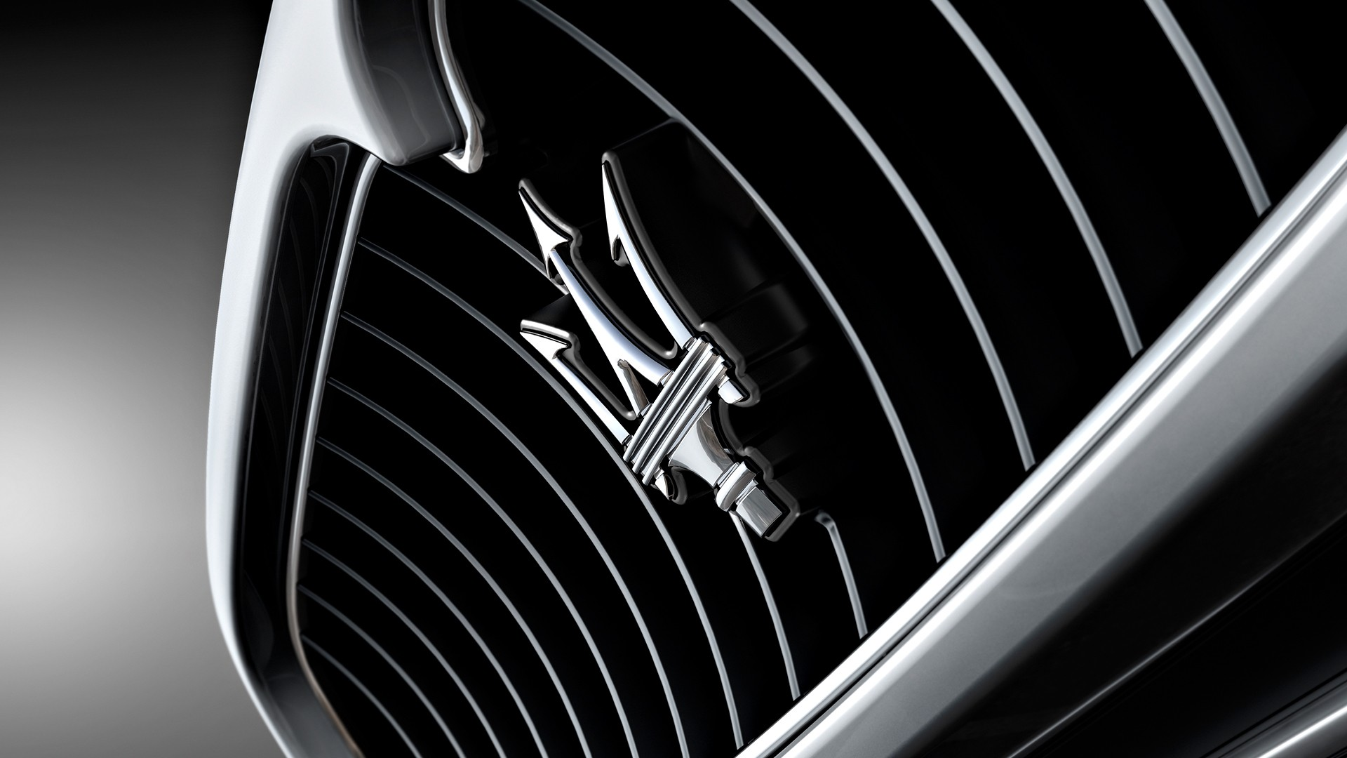 Maserati Car Logo Design Background Hd Wallpaper Maserati 1920x1080