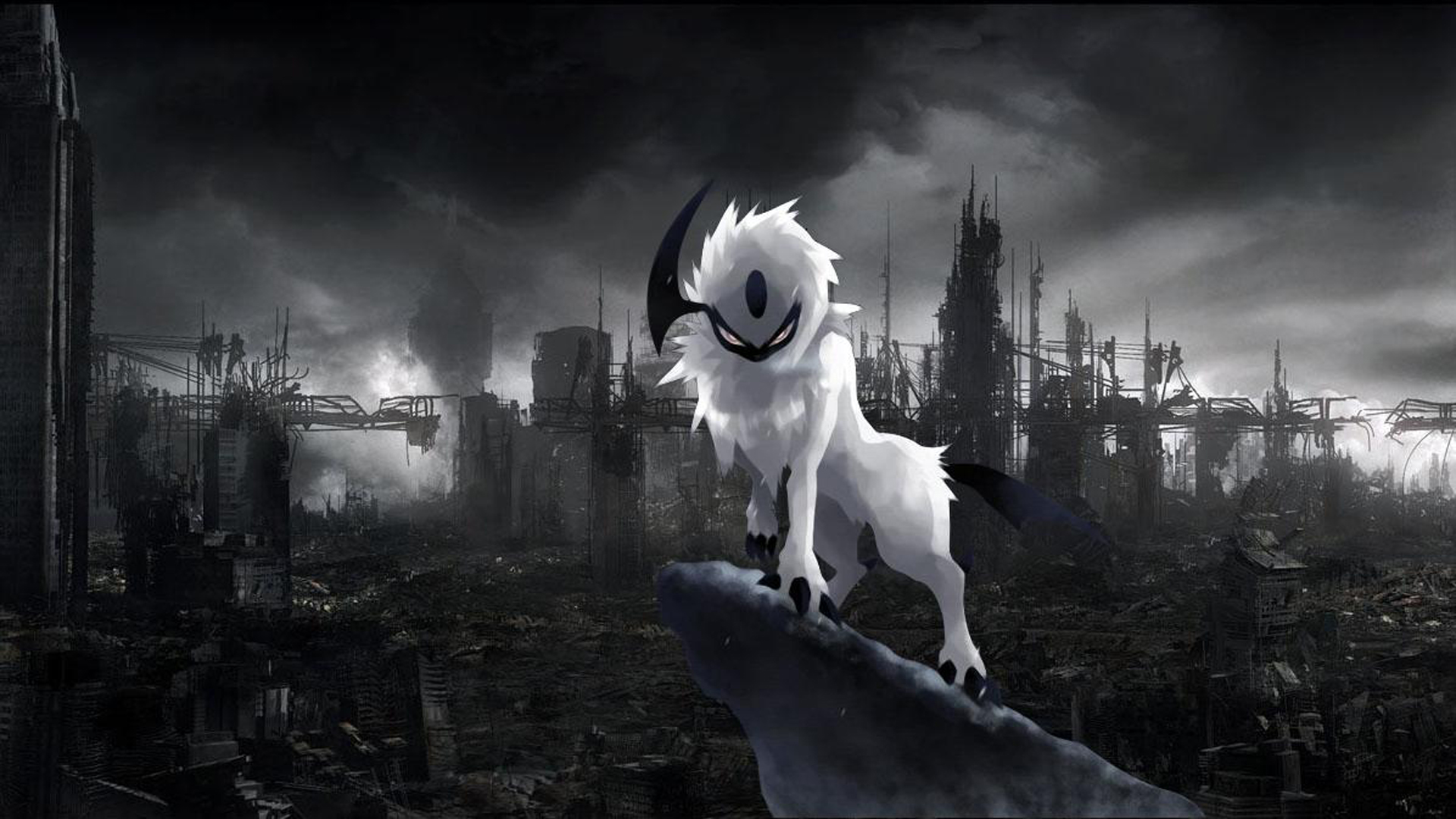 Pokemon Wallpaper Absol Images amp Pictures   Becuo 1920x1080