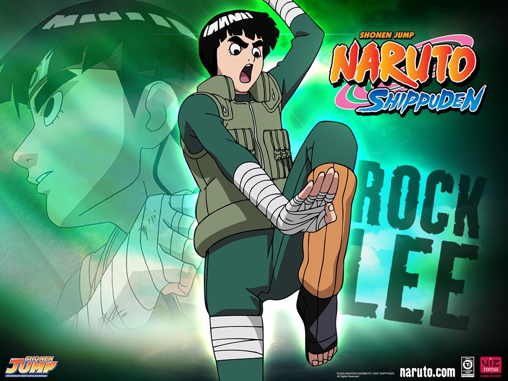 Rock Lee Naruto Shippuden Widescreen Wallpaper Image for PC 1024x768