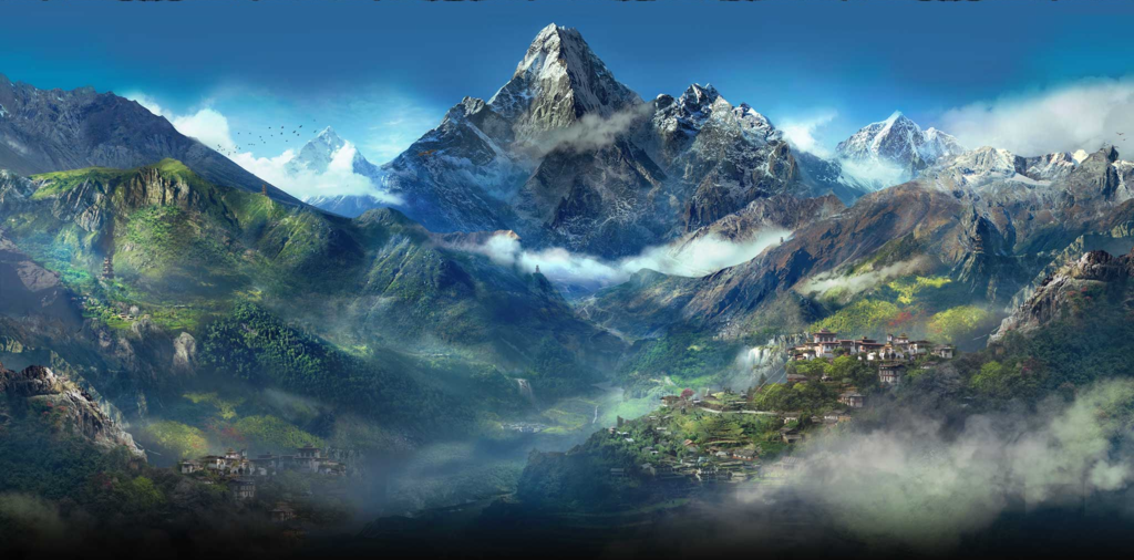 Free Download Far Cry 4 Mountains Wallpaper By Devonix 1024x506