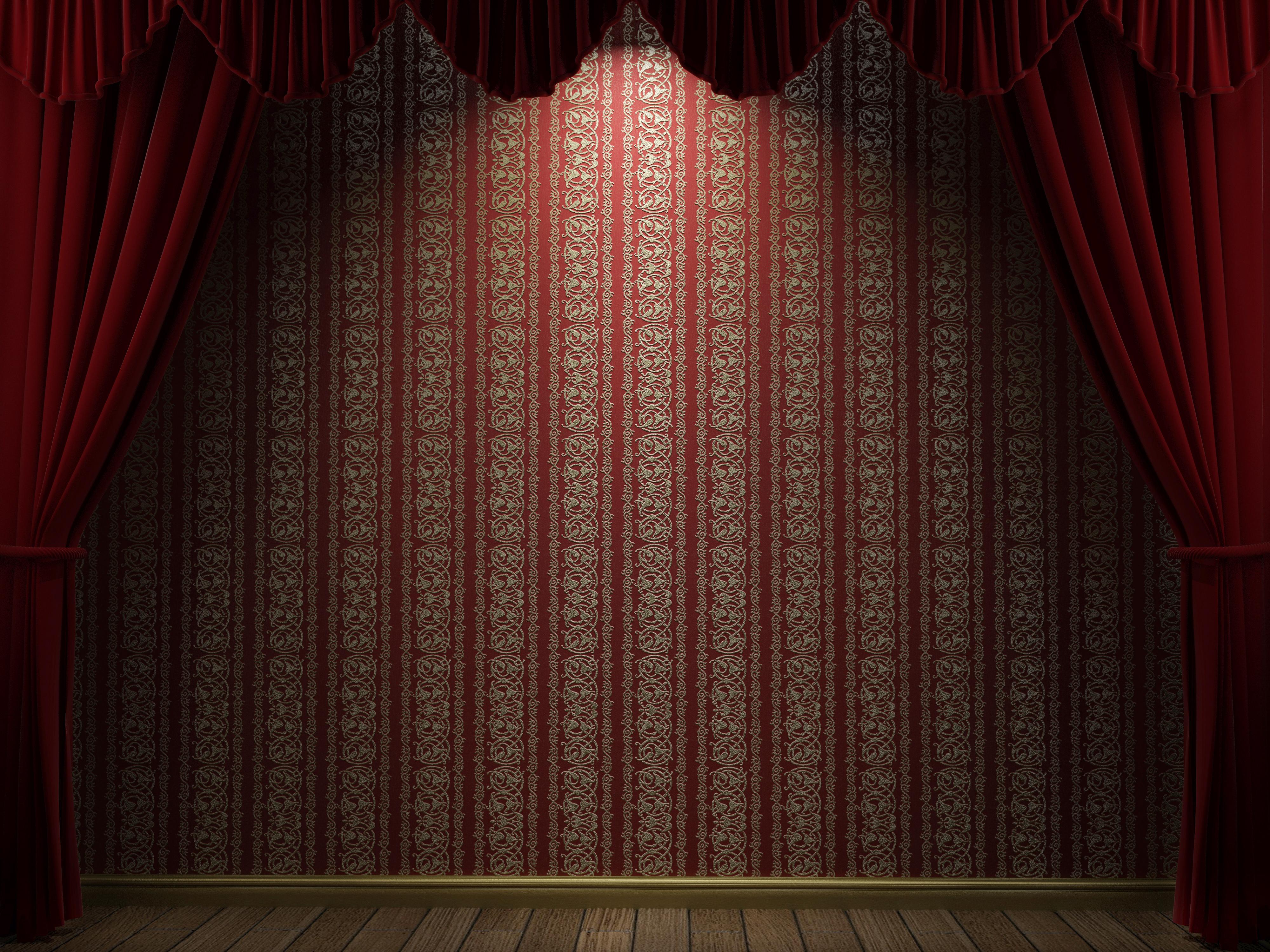Stage curtain wallpaper wallpapersafari - Stage Curtain Background Gallery 183 Backgrounds Stage