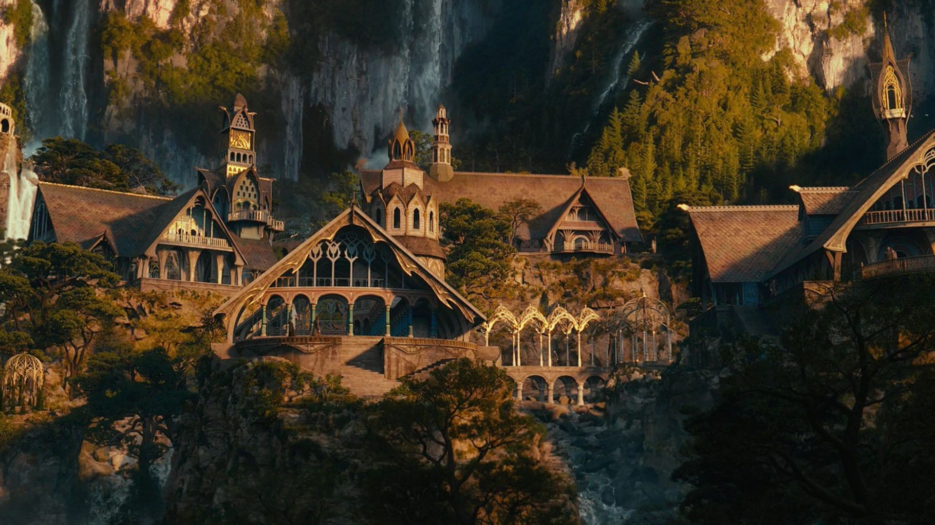 rivendell the lord of the rings movie hd wallpaper 1920x1080 7246jpg 1920x1080