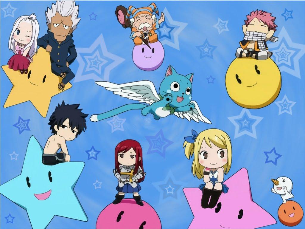 chibi fairy tail wallpaper chibi fairy tail anime wallpaper 1024x768