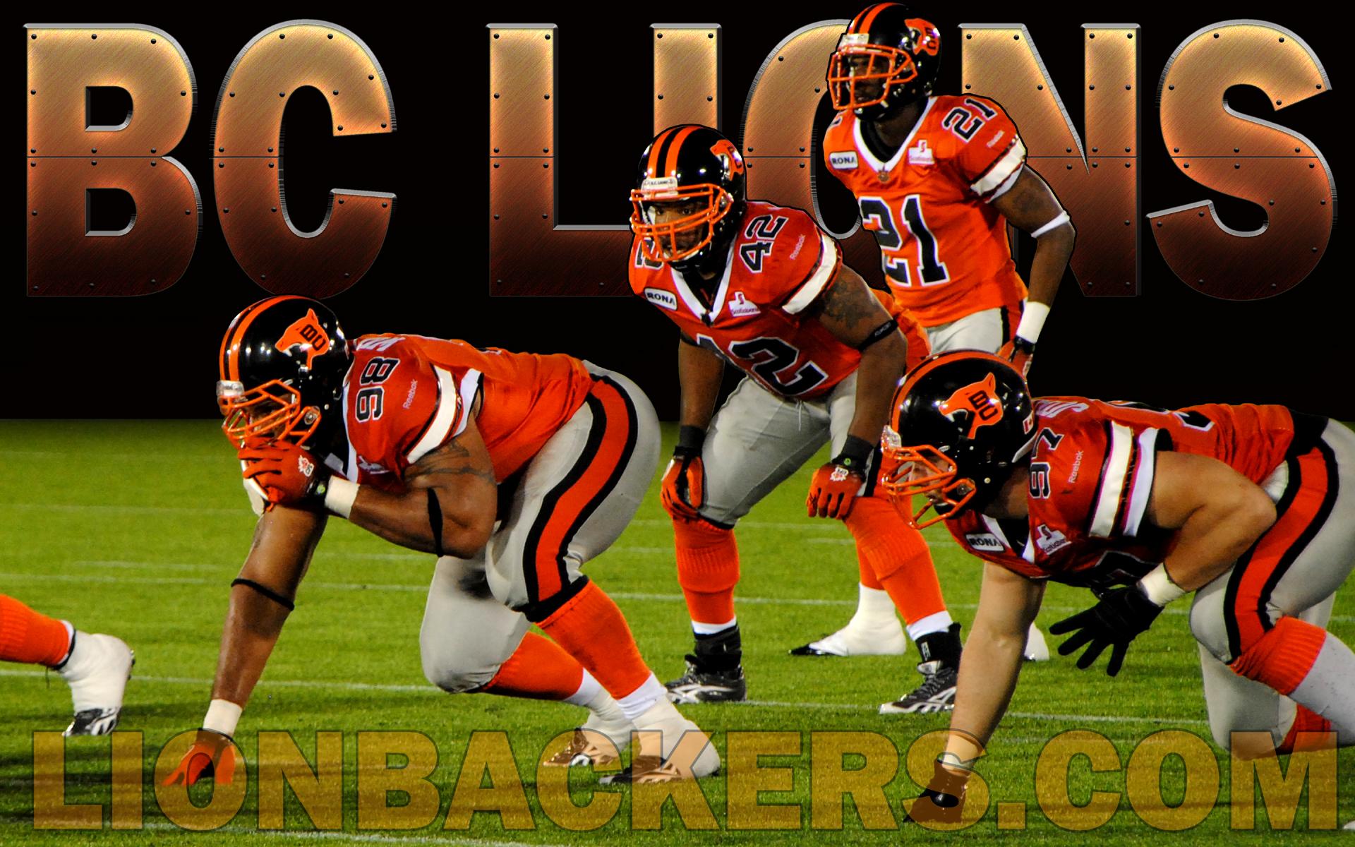 Lionbackerscom   The BC Lions Fan Den   Desktop Wallpapers 1920x1200