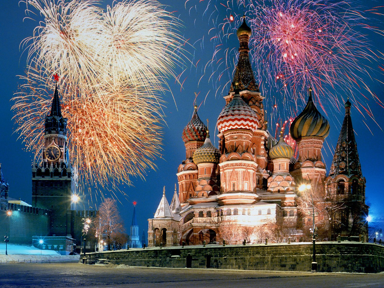 St Basils Cathedral Russia Wallpapers HD Wallpapers 1600x1200