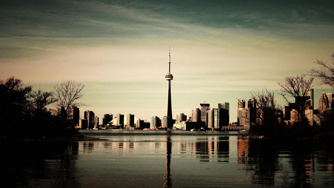 CN Tower HD Wallpapers   Travel HD Wallpapers 1366x768