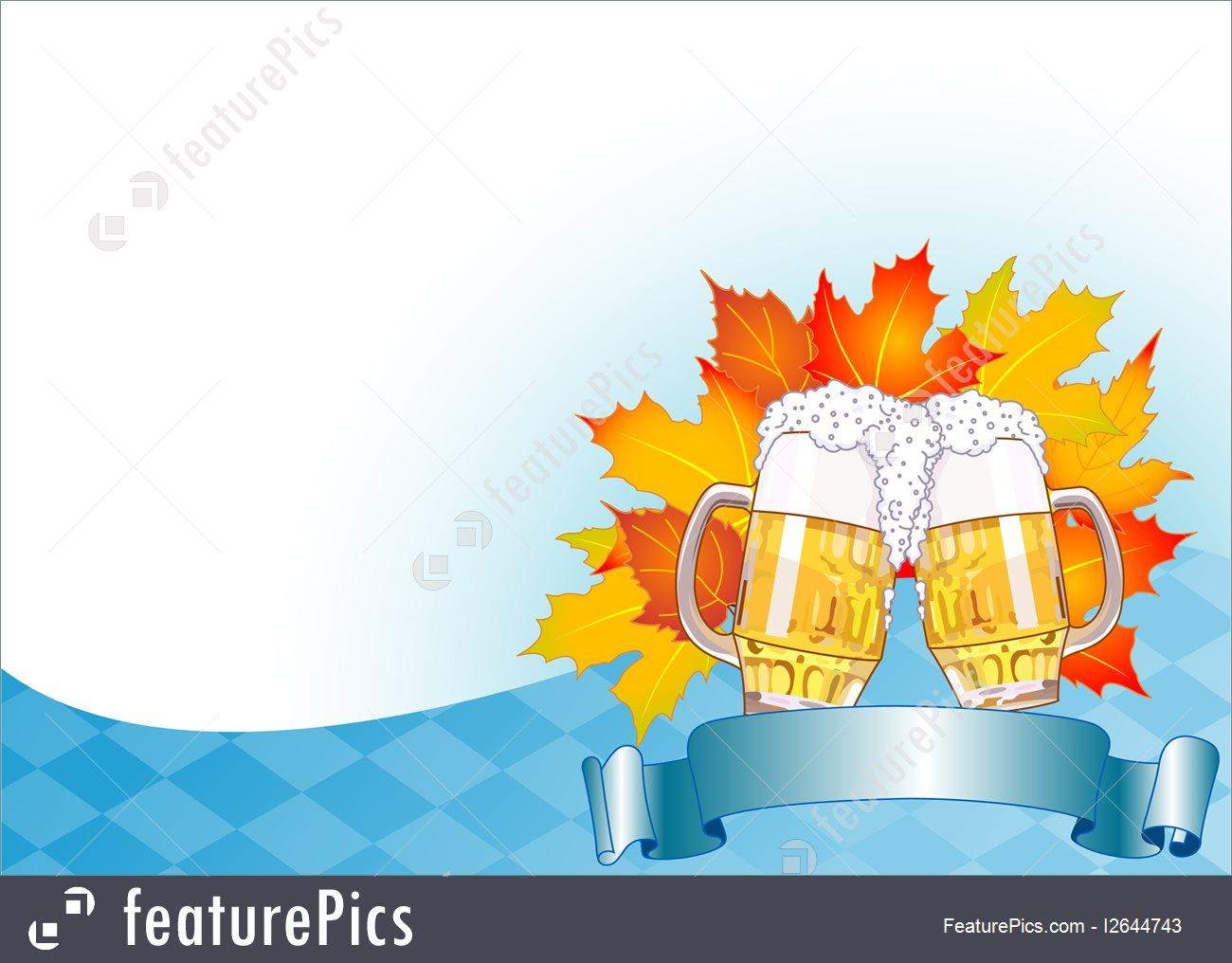 Celebration Oktoberfest Celebration Background   Stock 1300x1016