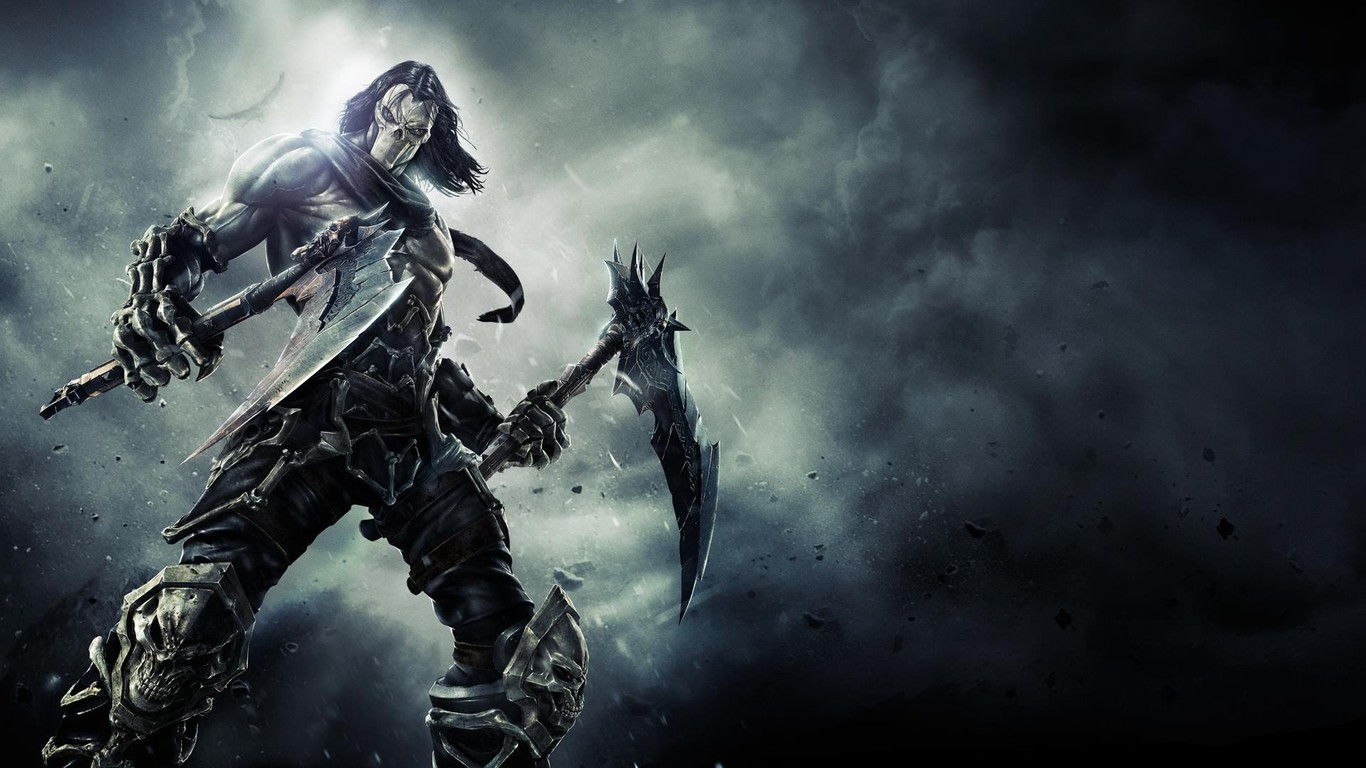 Death   Darksiders II wallpaper 3998 1366x768