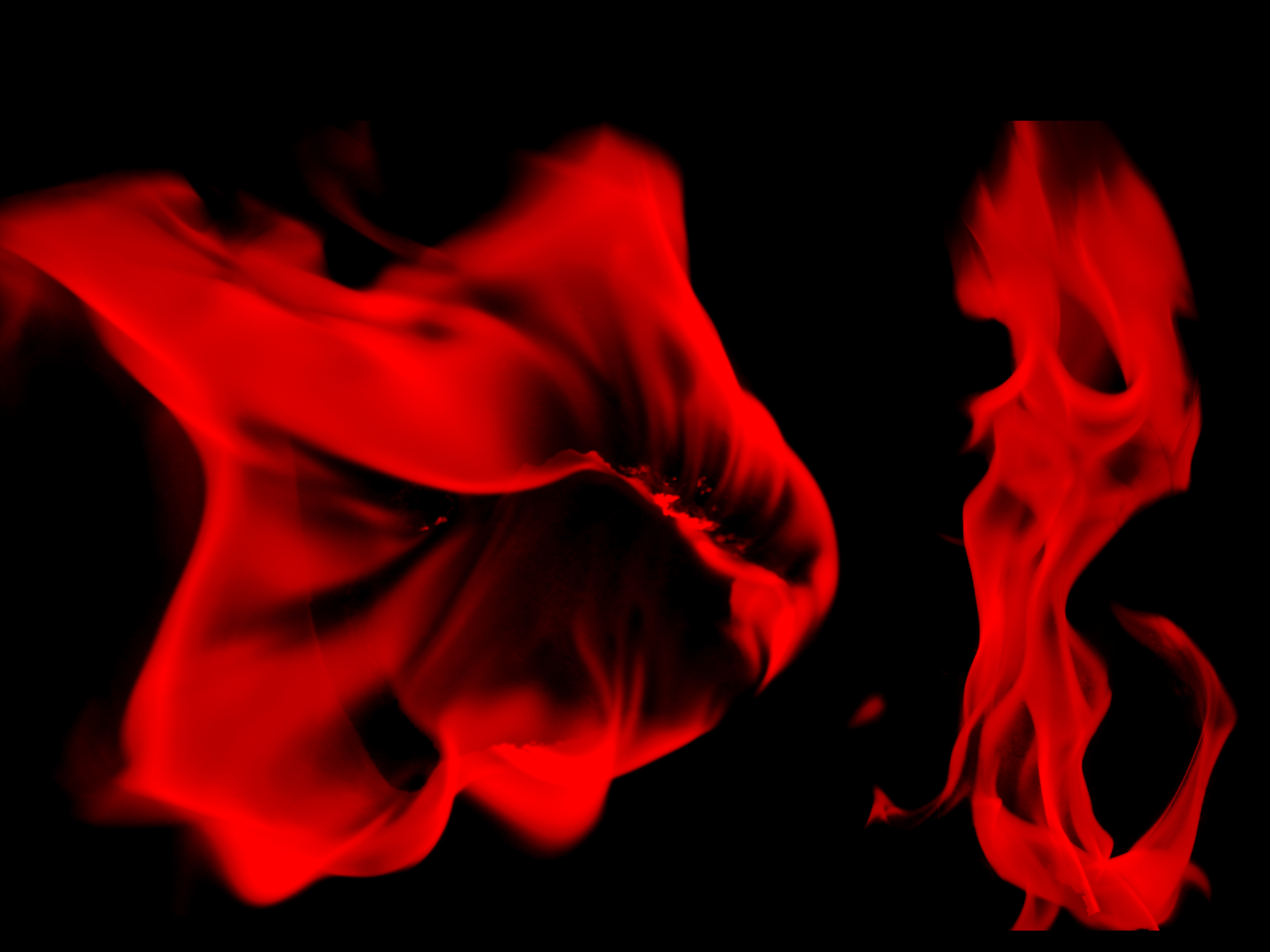 Wallpaper 41 Flame Red and Black Wallpapers 1600x1200