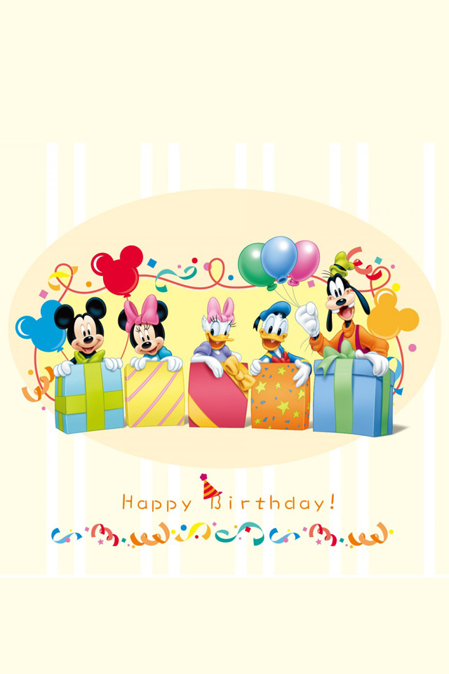 Cute Disney Mickey Mouse iPhone wallpaper iPhone 4 wallpaper 640x960