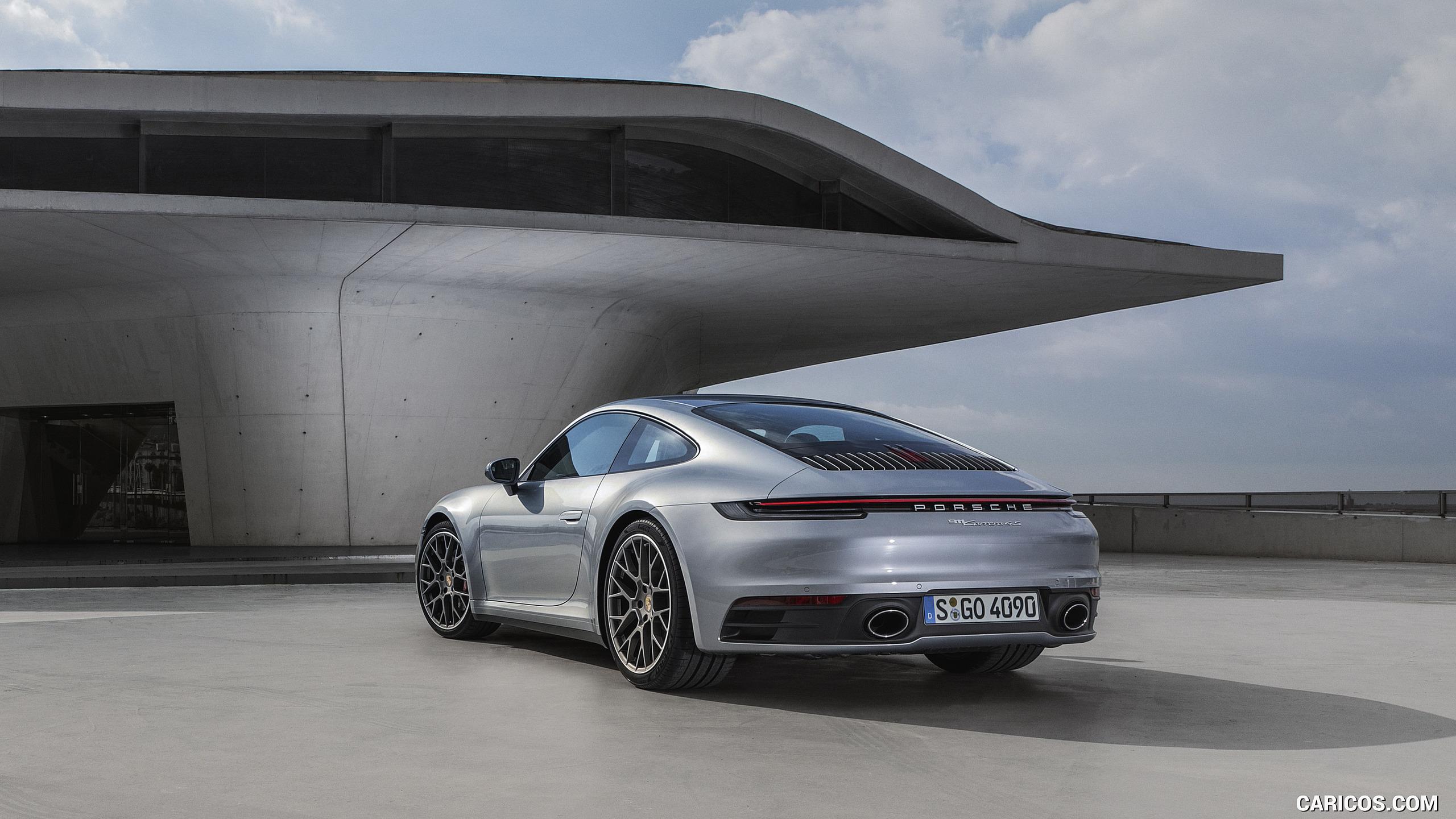 2020 Porsche 911 Carrera 4S   Rear Three Quarter HD Wallpaper 14 2560x1440