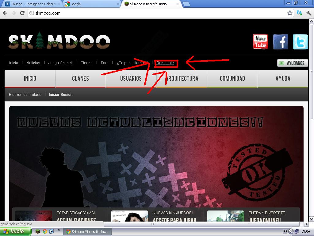 Tutorial Como jugar Online en Minecraft No hamachi   Taringa 1024x768