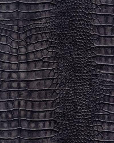 Galerie Natural Faux Feature Wallpaper Alligator Skin Dark Grey SD102 400x500